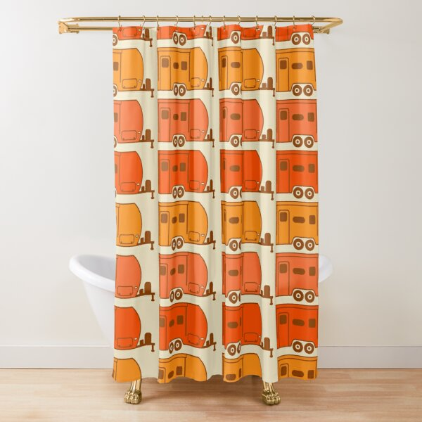 travel trailer shower curtains redbubble