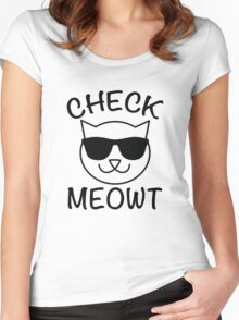 Check Meowt! T-Shirts. (Check Me Out) Play on word for Cat Lovers.