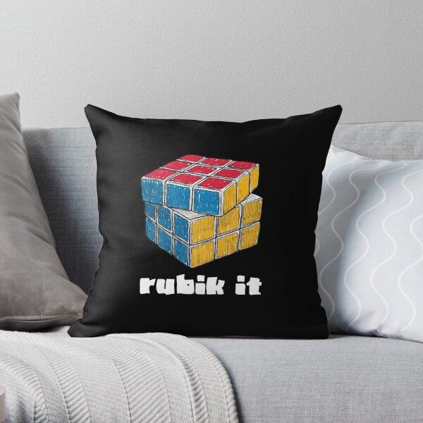 rubik cube pillows cushions redbubble