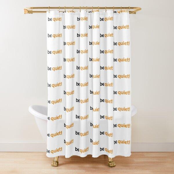 quiet shower curtains redbubble