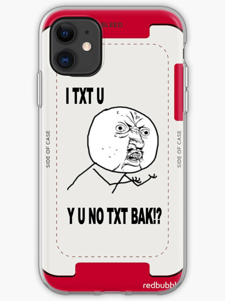 Y U No X Guy Meme Iphone Case Cover By Damianl Redbubble