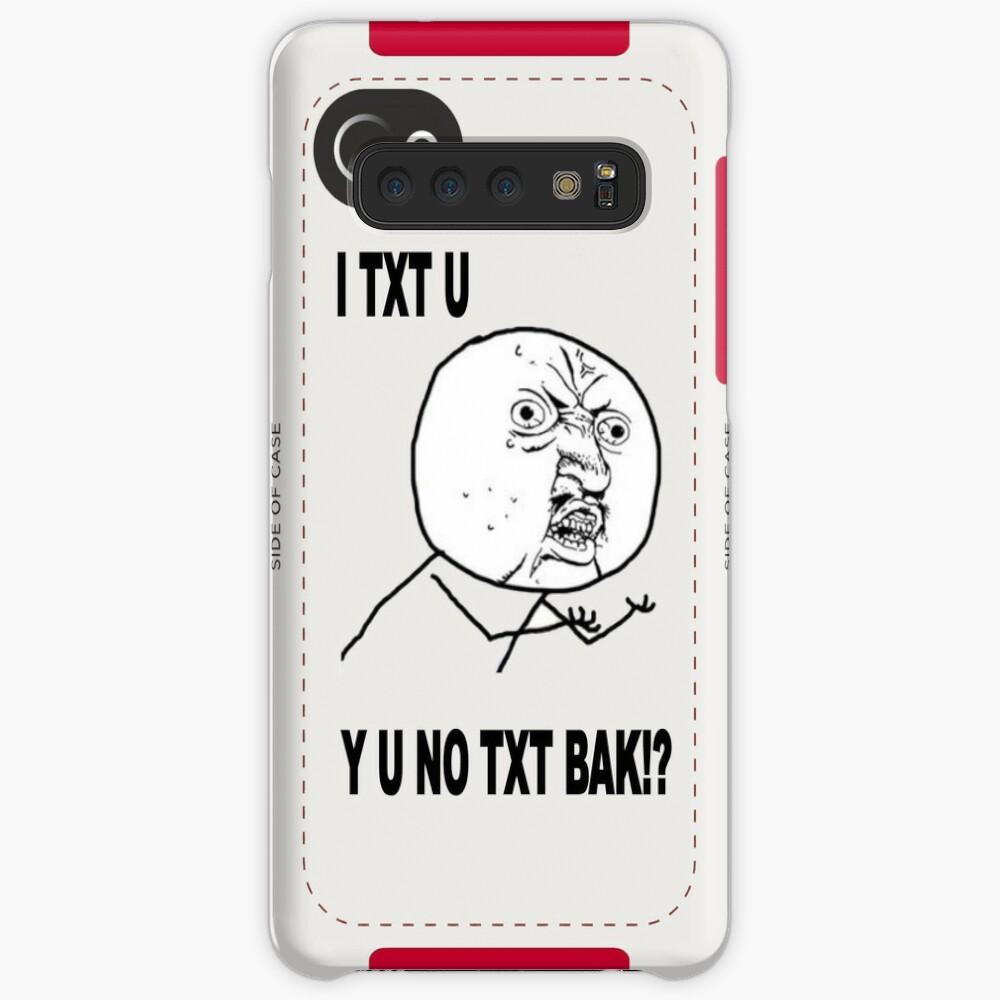 Y U No X Guy Meme Case Skin For Samsung Galaxy By Damianl