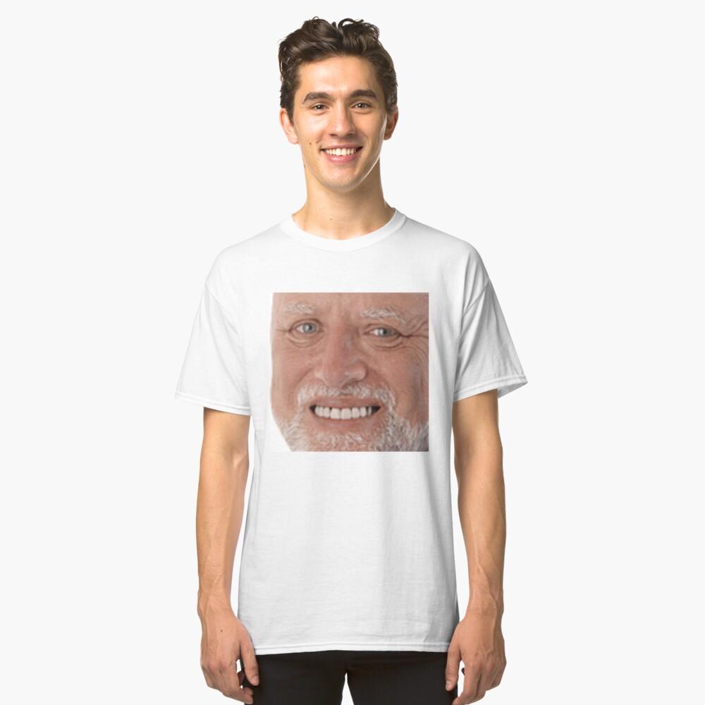 Hahaa Hide The Pain Harold Meme T Shirt By Mash701 Redbubble