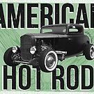 American Hot Rod - green version by htrdesigns