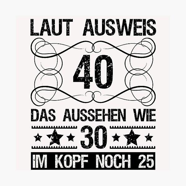 Mann Lustig Mark E Woodson Gluckwunsche Zum 40 Geburtstag Mann
