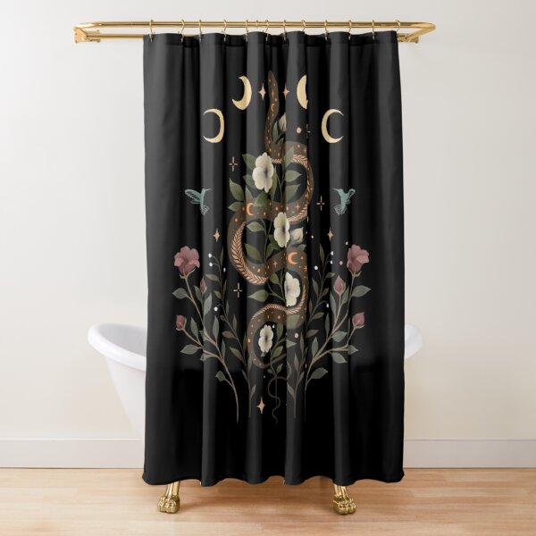 spell shower curtains redbubble