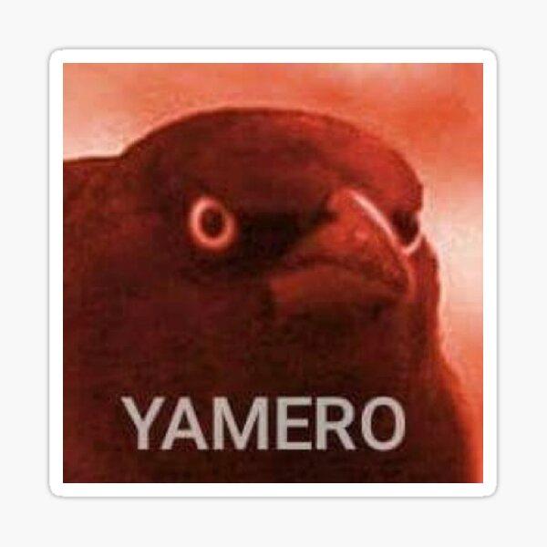 Yamero Stickers Redbubble