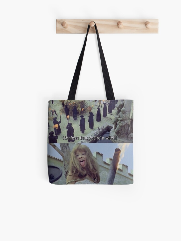Salem Witch Meme Tote Bag By Crumpetstrumpet Redbubble