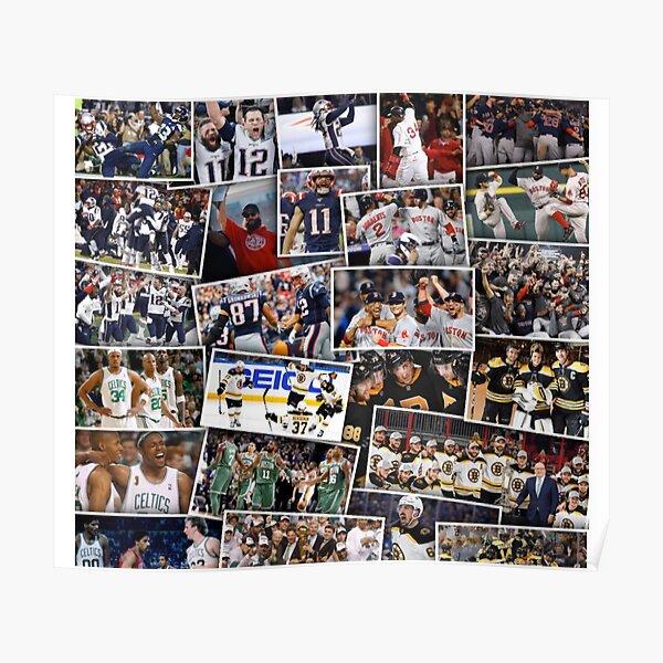 boston sports poster by ka1830 redbubble
