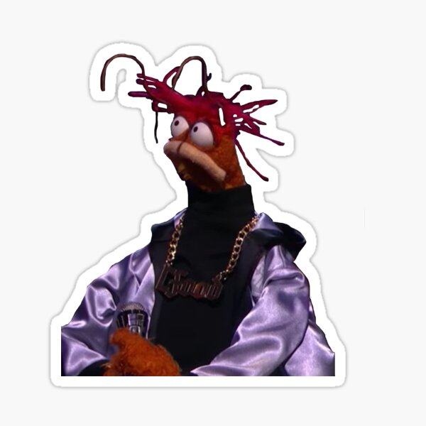 Pepe The King Prawn Stickers Redbubble