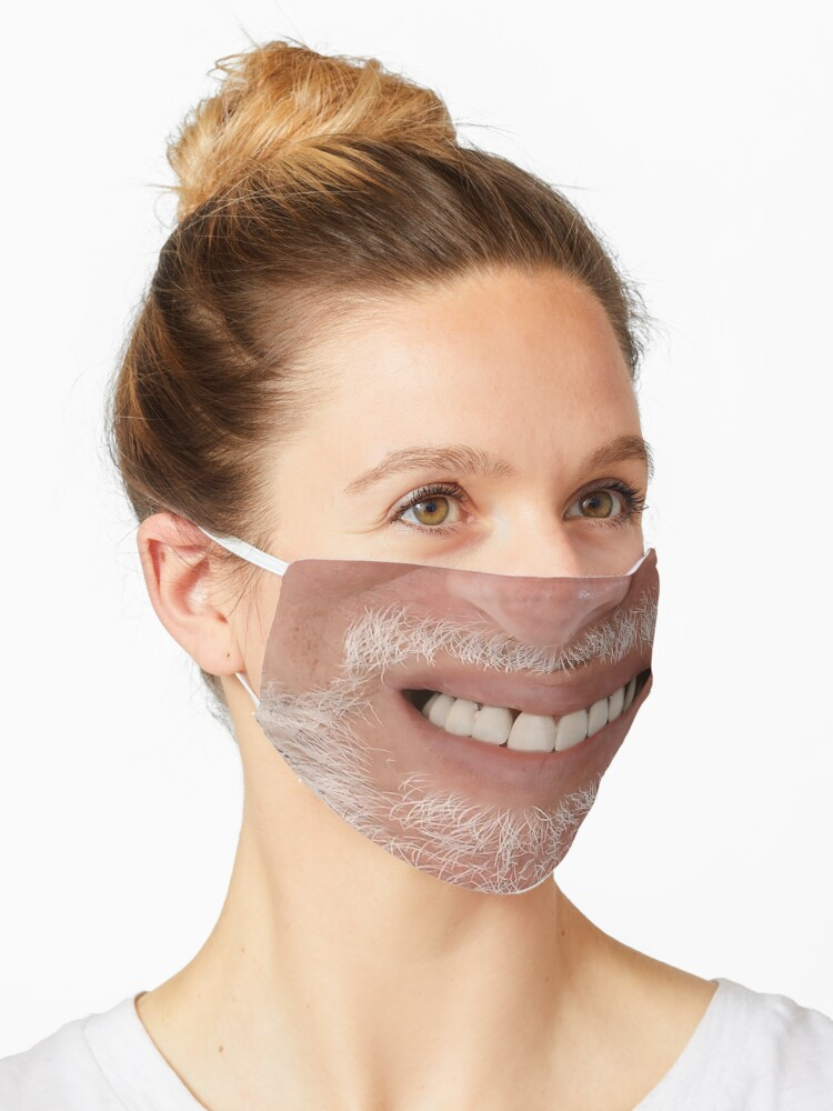 Hide The Pain Harold Thumbs Up Face Mask Mask By Richardrguez