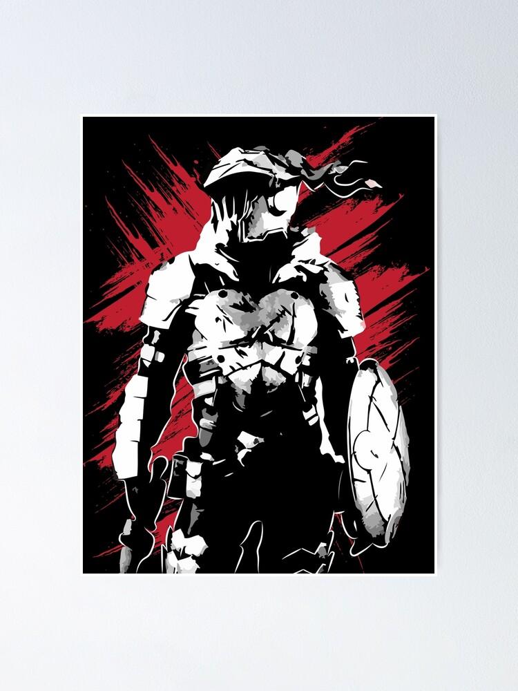 goblin slayer anime poster by moni art redbubble