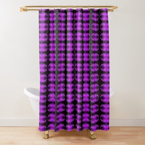 light trails shower curtains redbubble