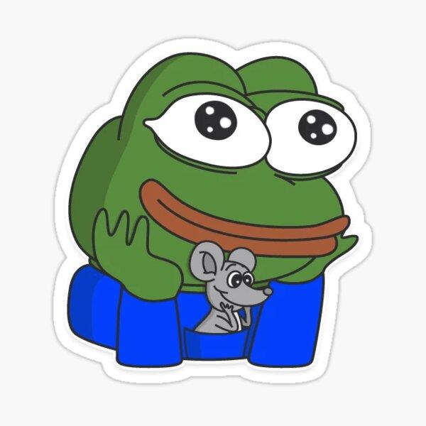 Happy Pepe Stickers Redbubble