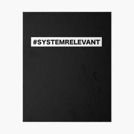 Systemrelevant Dass Und Wie Wir Leben
