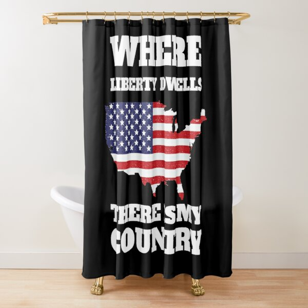 july 4th shower curtains redbubble