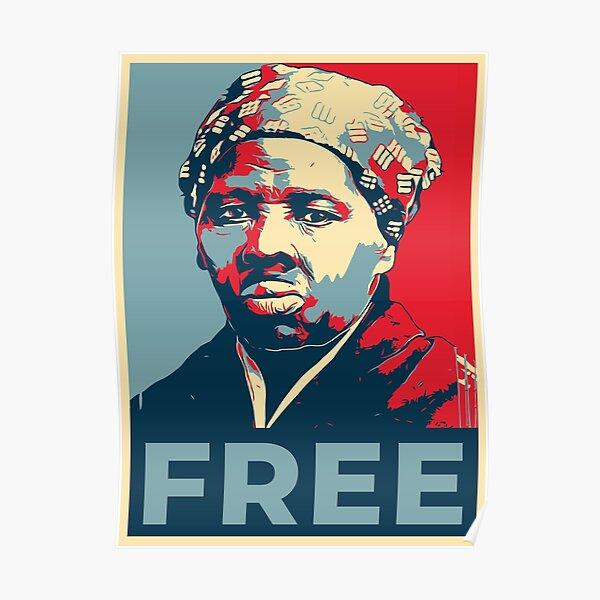 harriet tubman poster von radvas redbubble