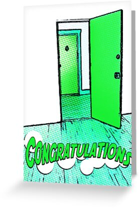 Congratulations On Your New Apartment Greeting Cards By