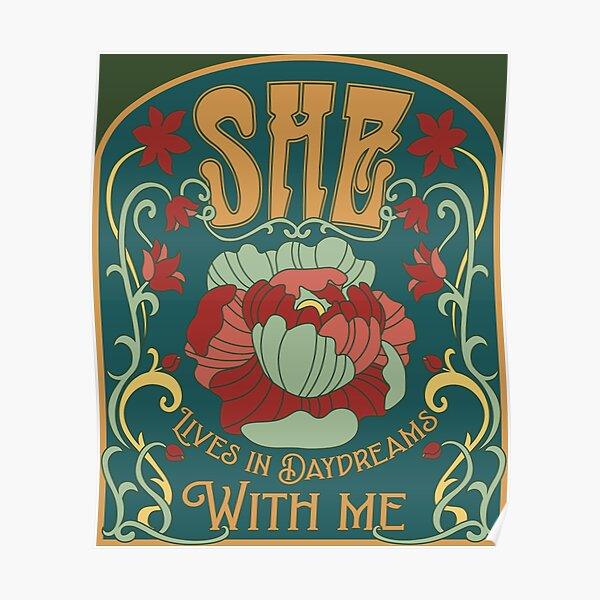 she fine line posters redbubble