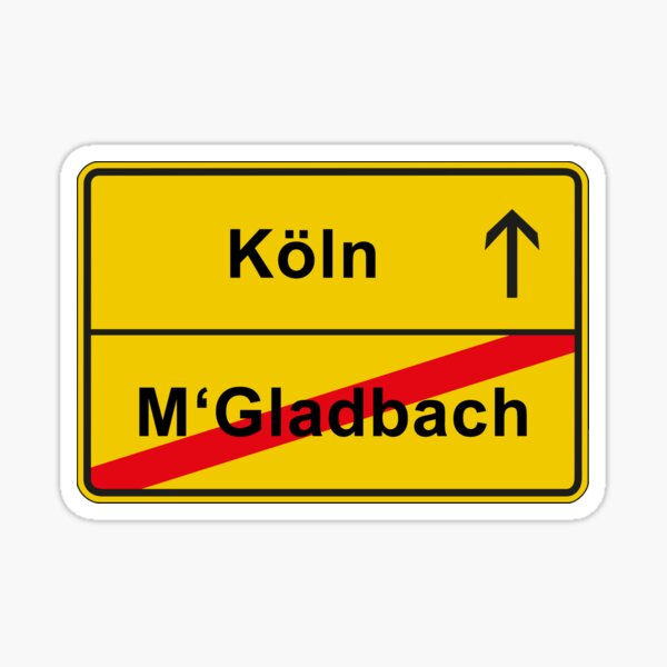 sticker m c3 b6nchengladbach redbubble