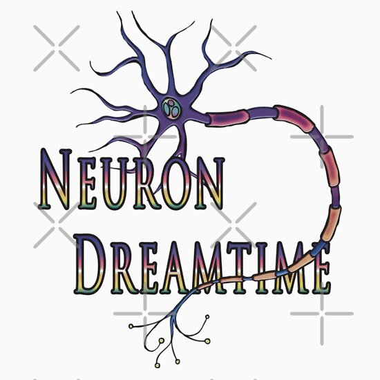 Neuron Dreamtime - Neuron logo tee
