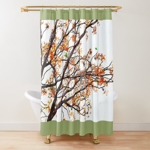 harvest gold shower curtains redbubble