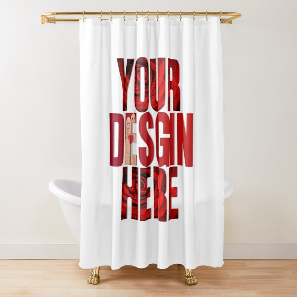 make your own shower curtains redbubble