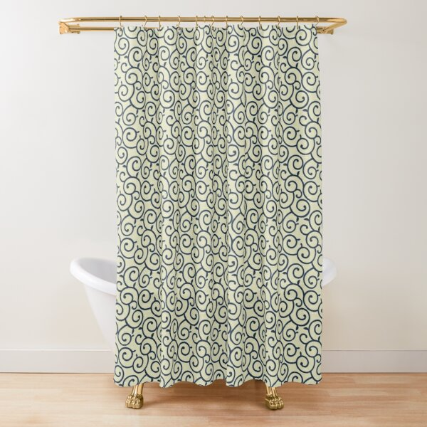 kimono pattern shower curtains redbubble