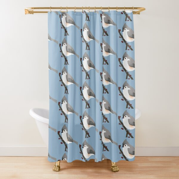 fat bird shower curtains redbubble