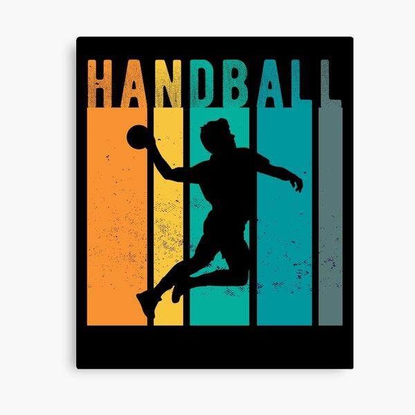 wandbilder handball player redbubble