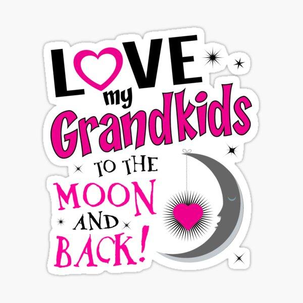 Download Grandkids Stickers   Redbubble