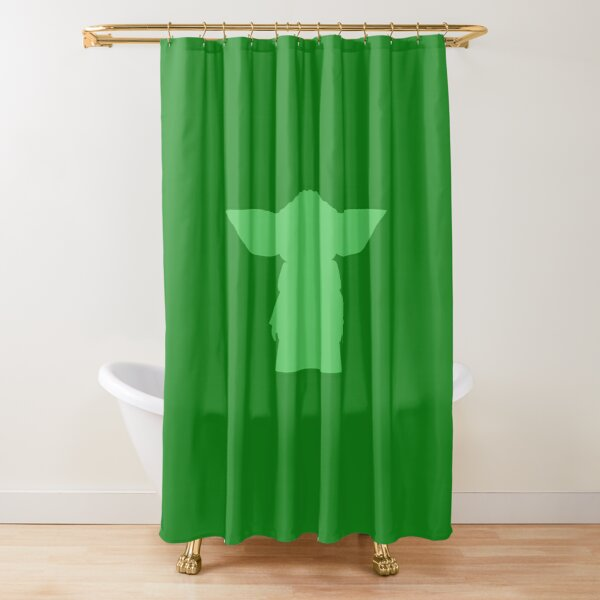 cool baby yoda shower curtains redbubble