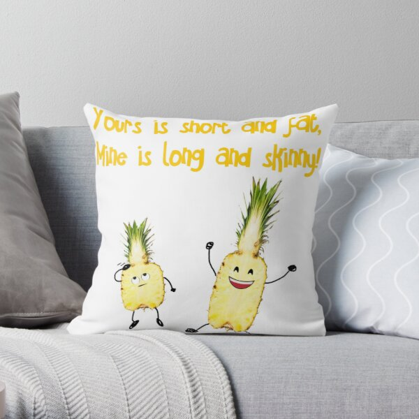 mine and yours pillows cushions redbubble