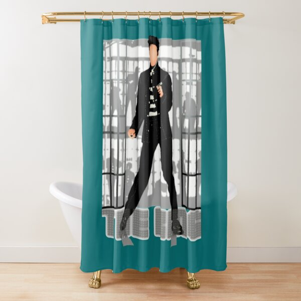 priscilla presley shower curtains redbubble