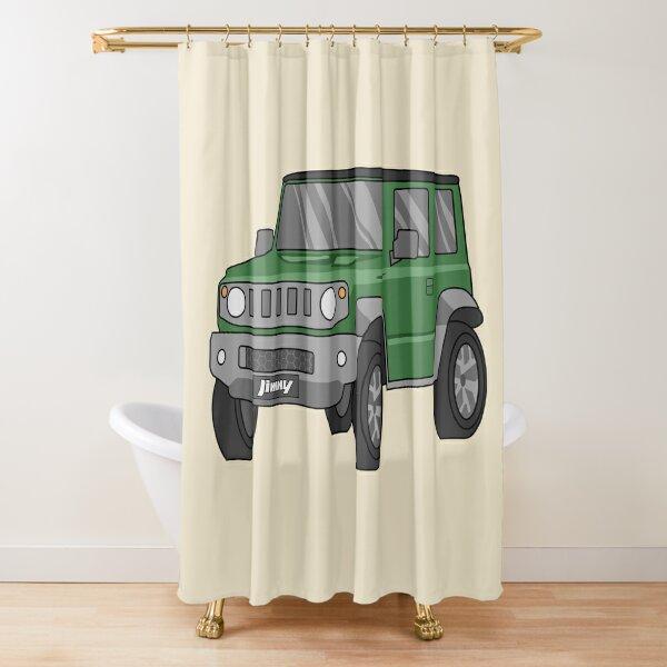 jimny shower curtains redbubble