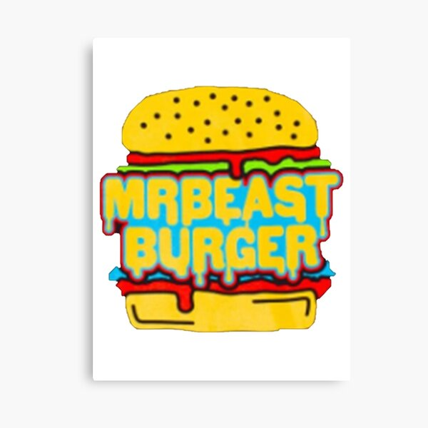50 50 Burger Canvas Prints | Redbubble