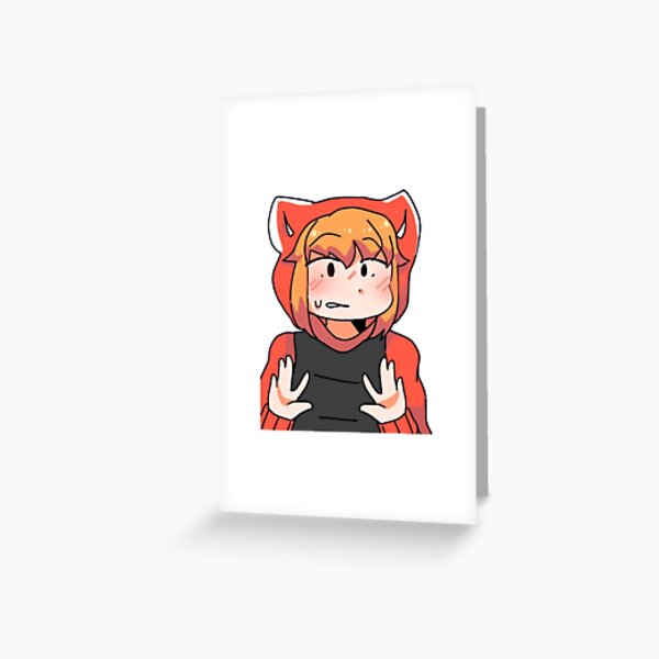 roblox arsenal greeting cards redbubble