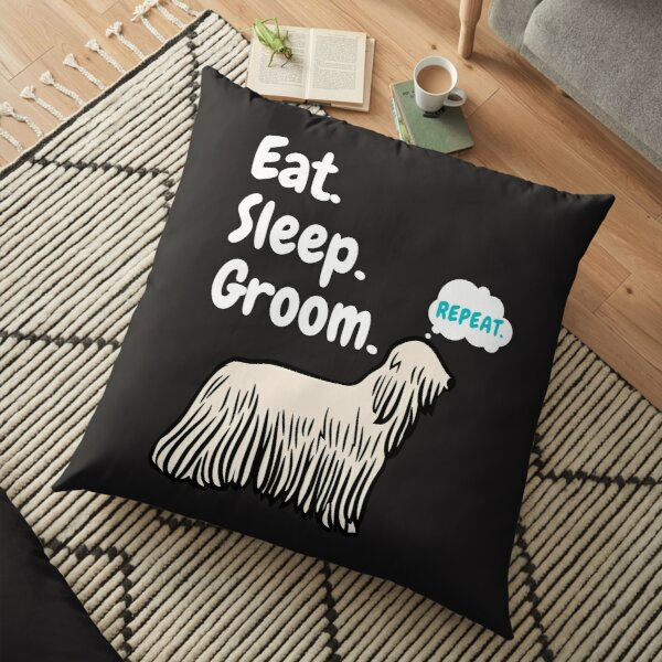 dog groomer pillows cushions redbubble