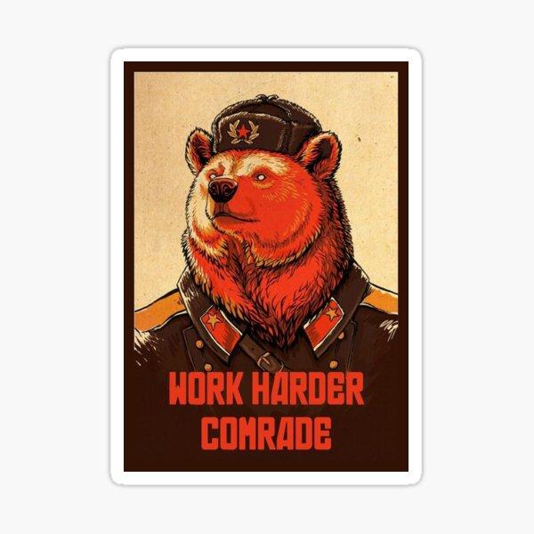 Soviet Union Meme Stickers Redbubble
