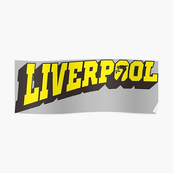 liverpool retro posters redbubble