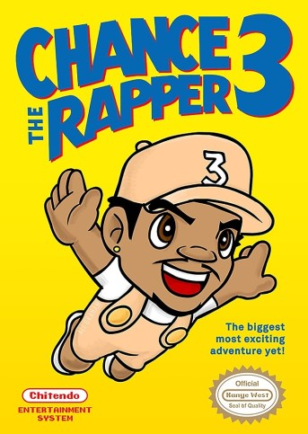 Image result for chance the rapper super mario