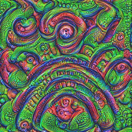 Green #DeepDream