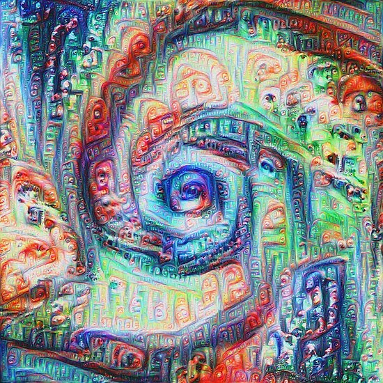 Vortex dragon #DeepDream A