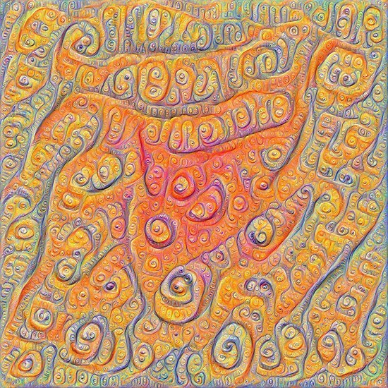 Orange #DeepDream