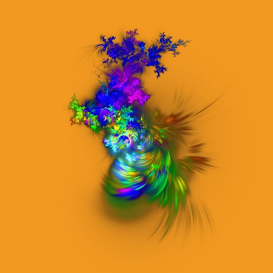 Vase of flowers #fractals