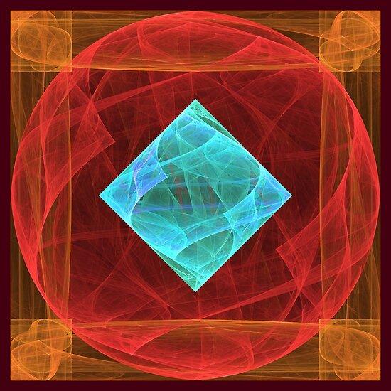 Antiquarian Pulsar #fractal art