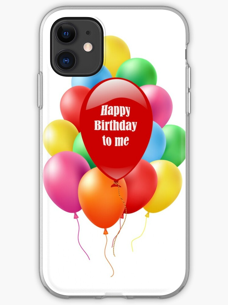Happy Birthday Balloon Bouquet Iphone Case Cover By Cinn Redbubble
