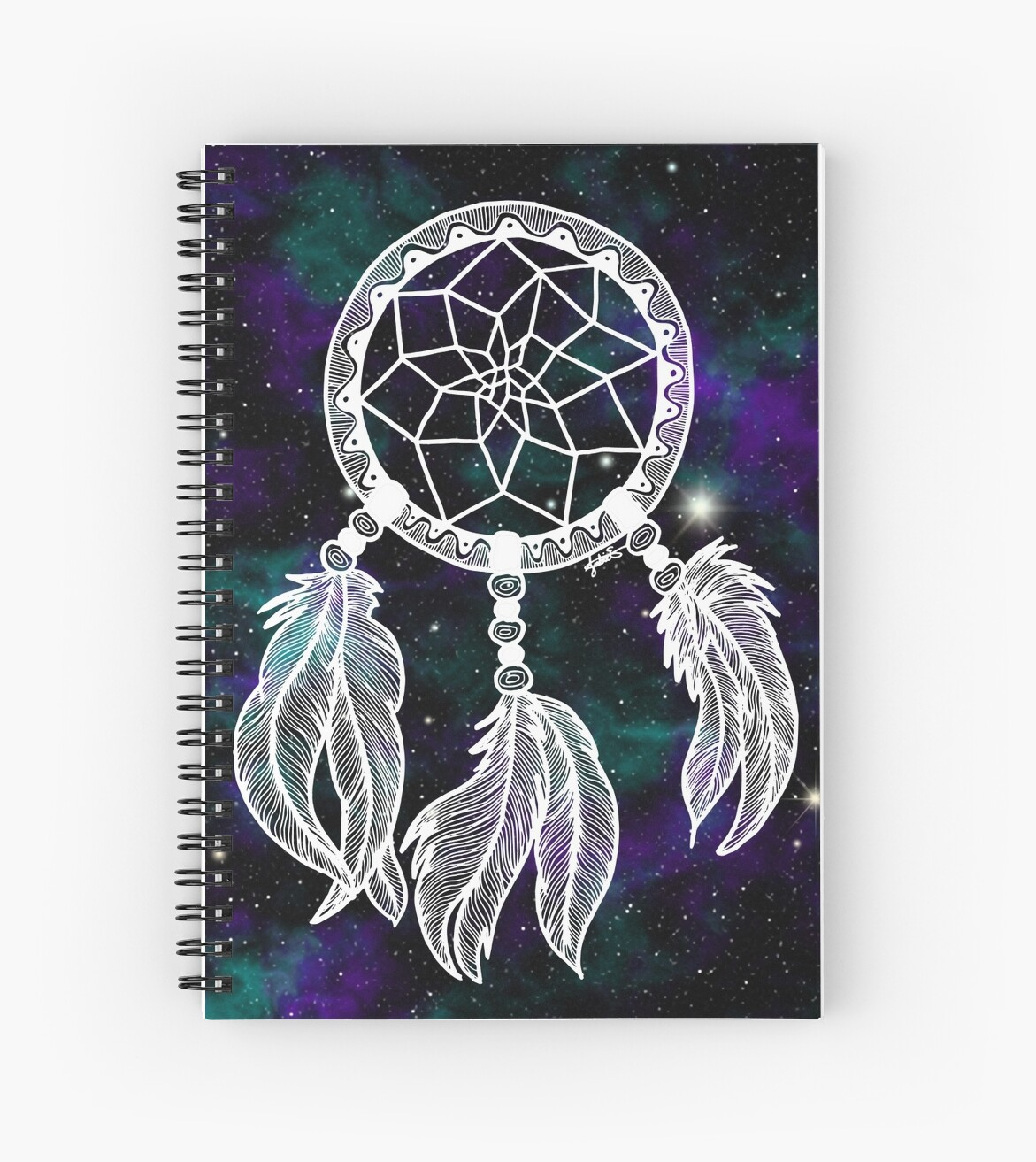 galaxy dreamcatcher dream catcher notebook gift ideas