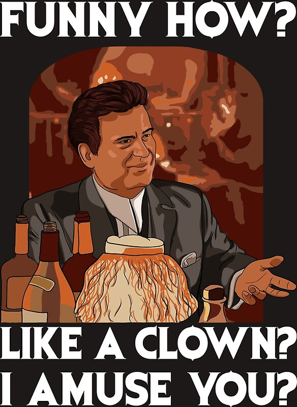 Funny How Like A Clown By Balkanik Redbubble