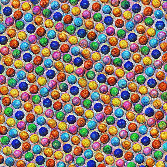Color Dots #DeepDream